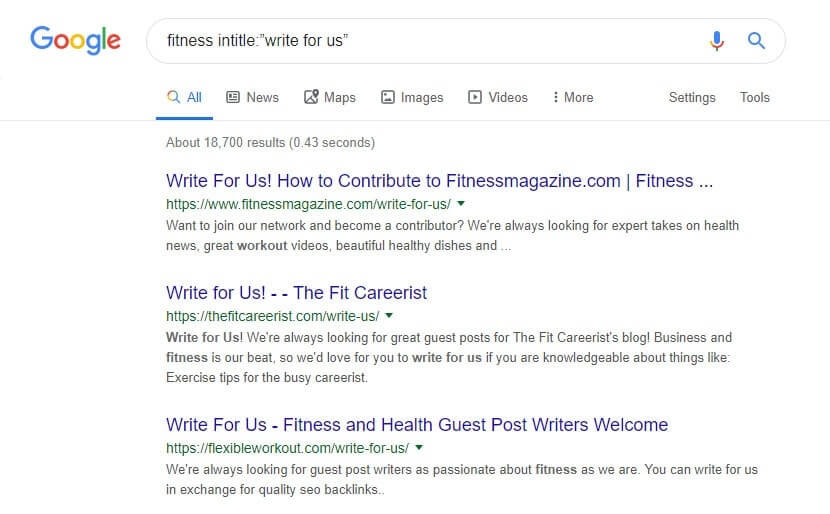 How to find guest posts