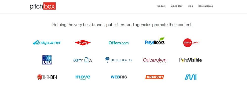 Screenshot of Pitxhbox's webpage
